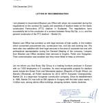 Bisztrai_Telmex recommendation letter_2014